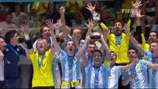 THE FINAL: Russia v Argentina - FIFA Futsal World Cup 2016(Watch highlights of the Final between the Argentinian and Russian futsal teams from the Futsal World Cup in Colombia. MORE COLOMBIA 2016 MATCH ..., 2016-10-01T22:30:31.000Z)