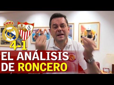 Real Madrid 4-1 Sevilla   El discurso de Roncero con recadito a Soria   Diario AS