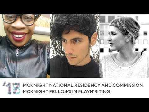 2017 18 McKnight National Residency and Commission & McKnight Fellowship in Playwriting