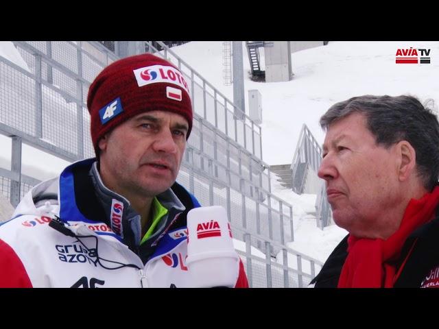 Stefan Horngacher zu der polnischen Mannschaft und Kamil Stoch