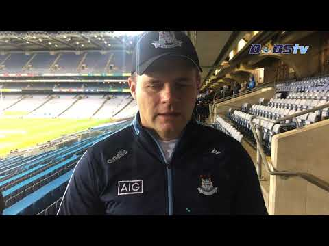 Dessie Farrell speaks to DubsTV after Leinster Semi Final win over Laois