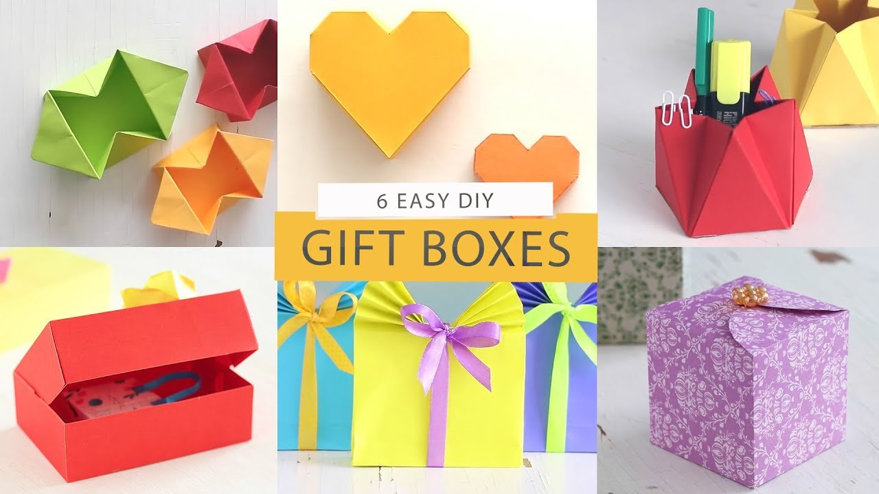 6 Fantastic Gift Wrapping Ideas