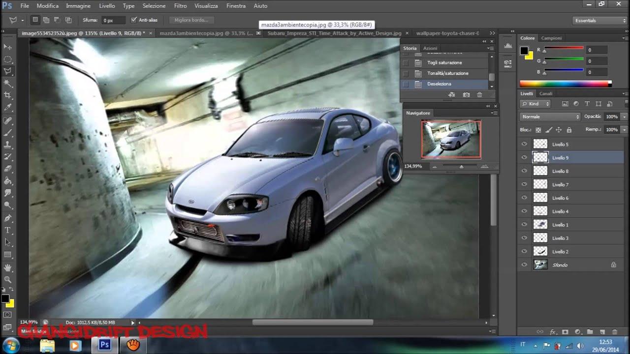 Hyundai Coupè Virtual Tuning Photoshop