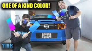 homepage tile video photo for Smurrf Mustang GT Gets CUSTOM PAINT COLOR! (INCREDIBLE RESULTS!)
