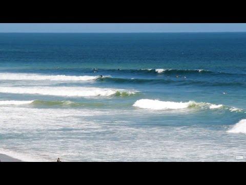 Surfing Hurricane Hermine Labor Day 2016 Jensen Beach FL Surf Cam Video [HD]