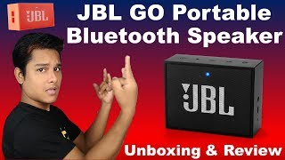 JBL GO Portable Bluetooth Speaker - Unboxing & Review | One of the Best Bluetooth Speaker [Hindi]
