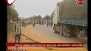 Wakazi Wa Morogoro Watimuliwa Na Mabomu Ya Machozi