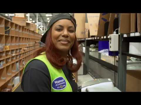 Walmart Fulfillment Centers Flexible Associates Youtube