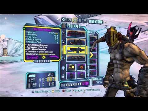 Borderlands 2 - Krieg Build - Th3 AxPloDer - AXE GO BOOM