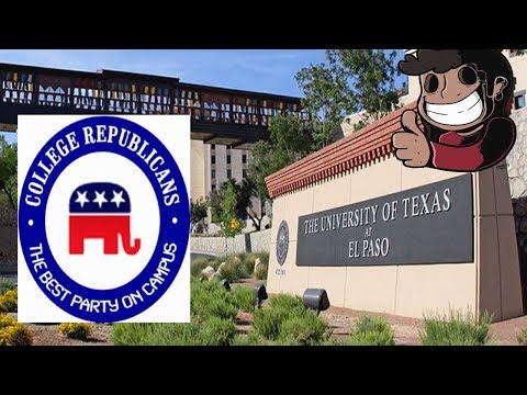 Discussion with The College Republicans of University of Texas, El Paso