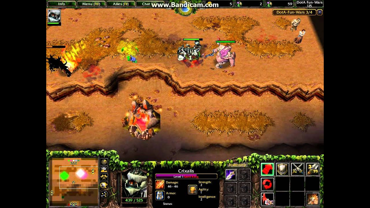 lets play dota dota fun wars mini game episode 2 part 1 bonus