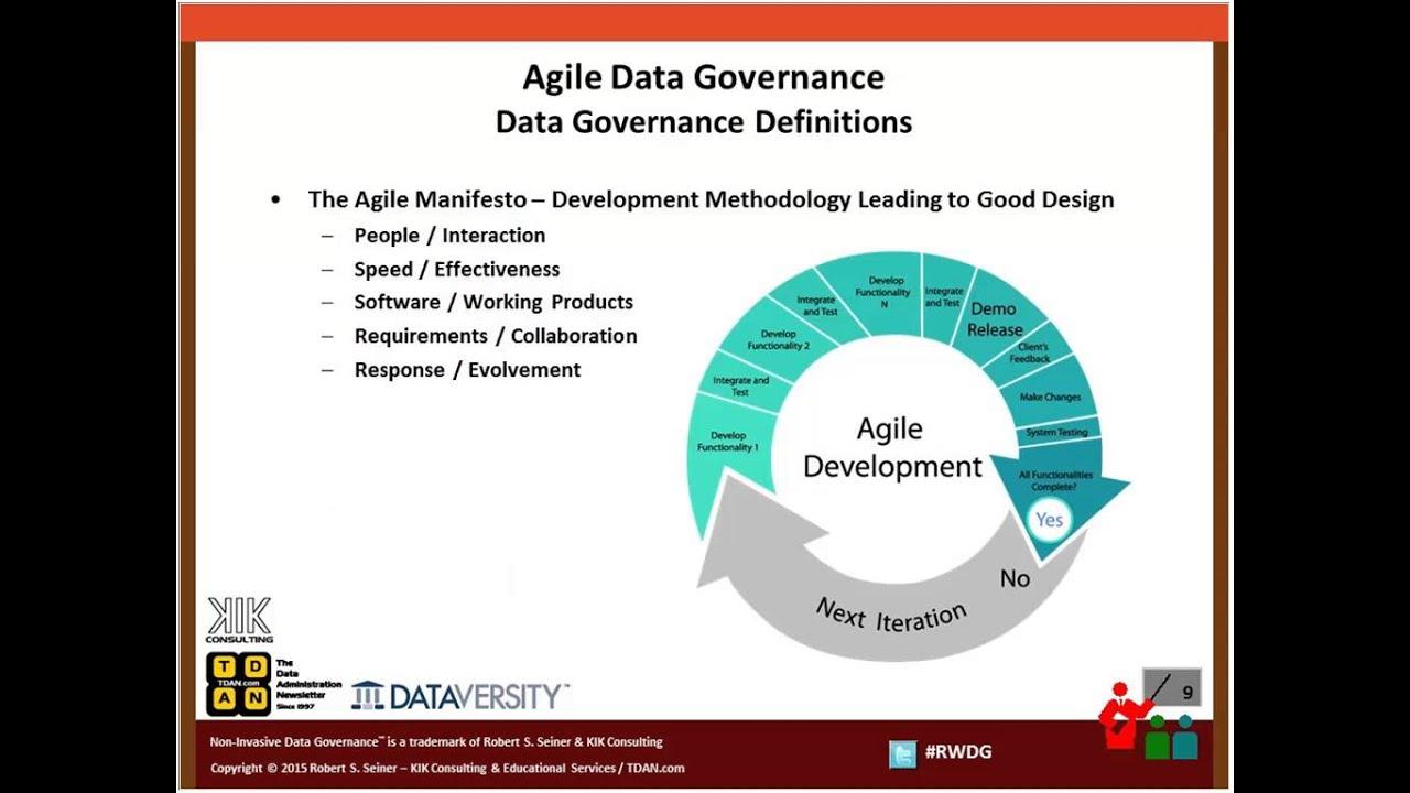 Agile Data Governance – How to Apply Governance to Agile