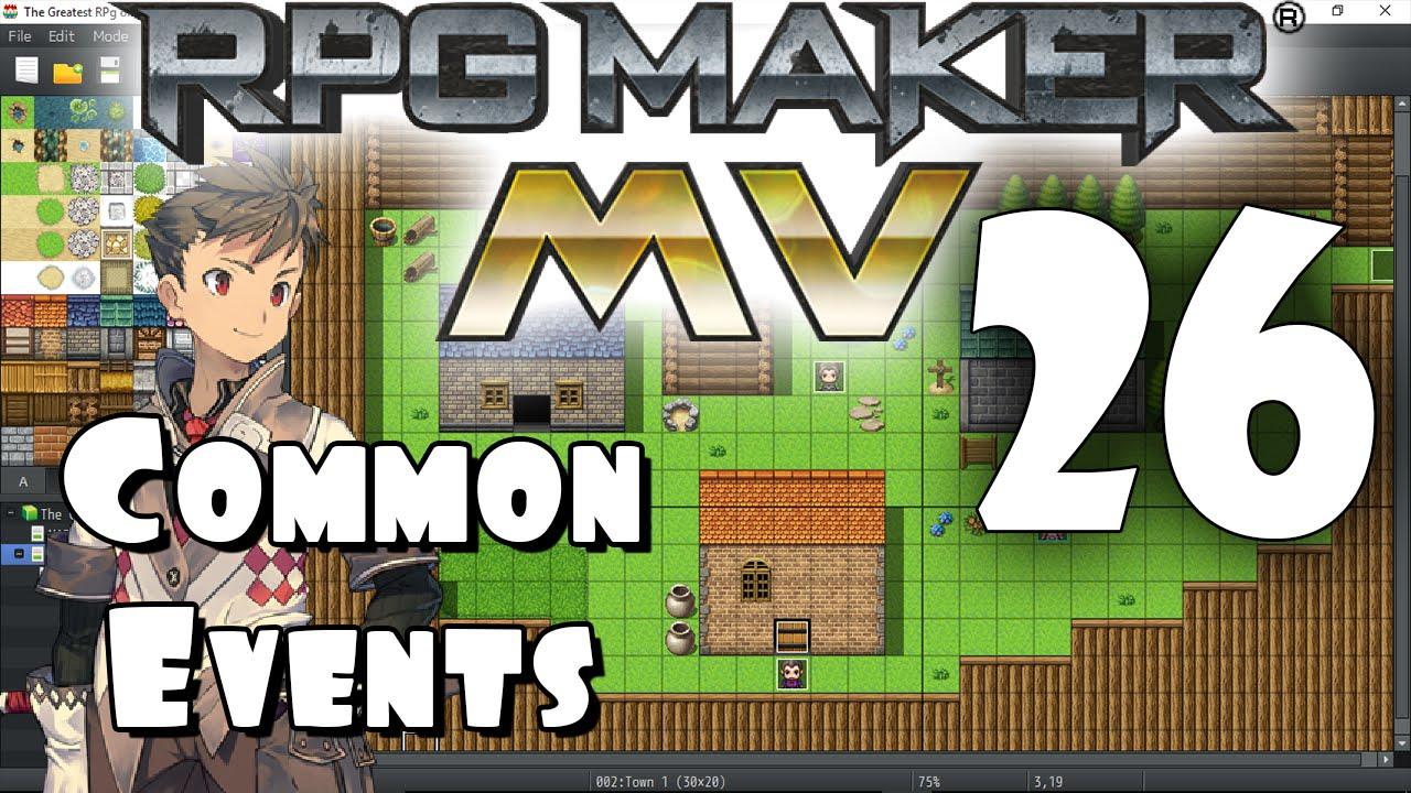 RPG Maker MV Tutorial #26 - Common Events PART 1