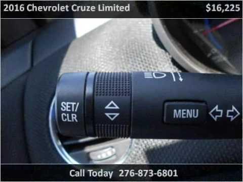 2016 Chevrolet Cruze Limited Used Cars Honaker VA. Modern Chevrolet Sales