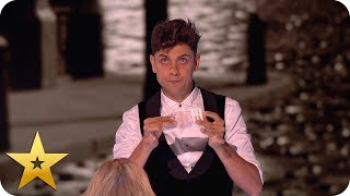Ben Hart breathes life into a twenty pound note! | BGT: The Champions
