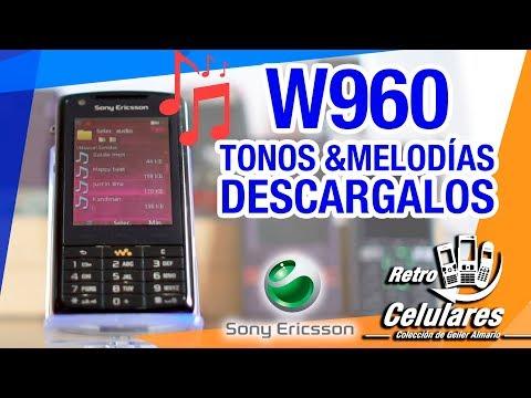 Tonos 🎵 melodías SONY ERICSSON W960 DESCARGALOS retro celulares