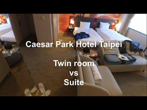 Caesar Park Hotel Taipei - Twin room vs Suite *review*