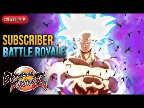 Dragon Ball FighterZ: Subscriber Battle Royale Marathon | MA