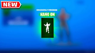 Claim Your NEW EMOTE NOW In Fortnite! *MOVIE IT ITEMS* (HANG ON EMOTE)
