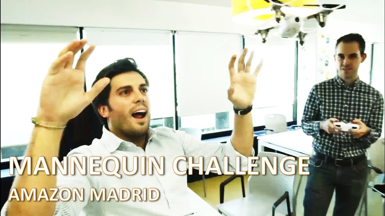 Mannequin Challenge Amazon Madrid Office Join Our Team Youtube