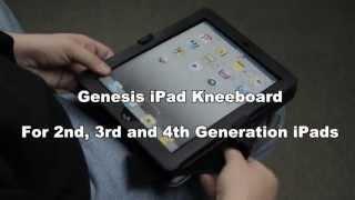 Genesis iPad Case / Pilot Kneeboard for iPad2 / iPad3 / iPad4
