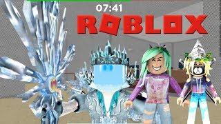 Destroying An Ice Queen!- Roblox