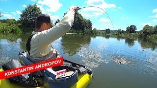 Все-таки уговорили! Летняя трудовая рыбалка на щуку и окуня! В ультралайт стиле!