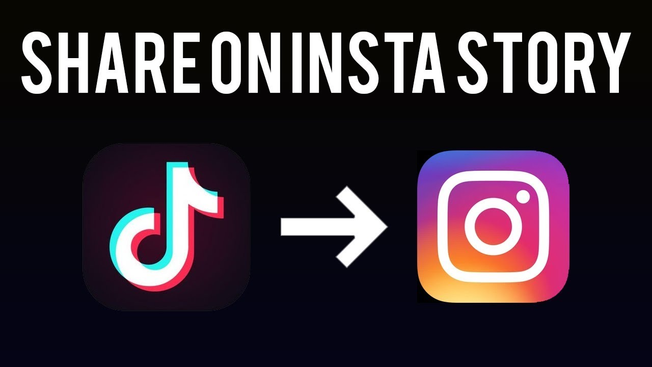 How To Post A Tiktok Video To Instagram Story Youtube