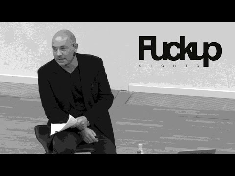 FuckUp Nights Frankfurt - Aleksander Ruzicka