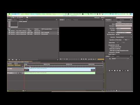 Adobe Media Encoder and Encore Tutorial: DVD Converting and Burning