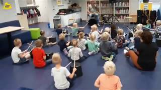 Emmertrommelen voor Bredevoort Schittert 2019