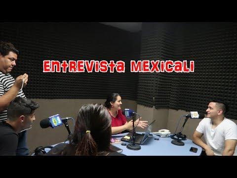 NOS ENTREVISTA UNA RADIO EN MEXICALI!!