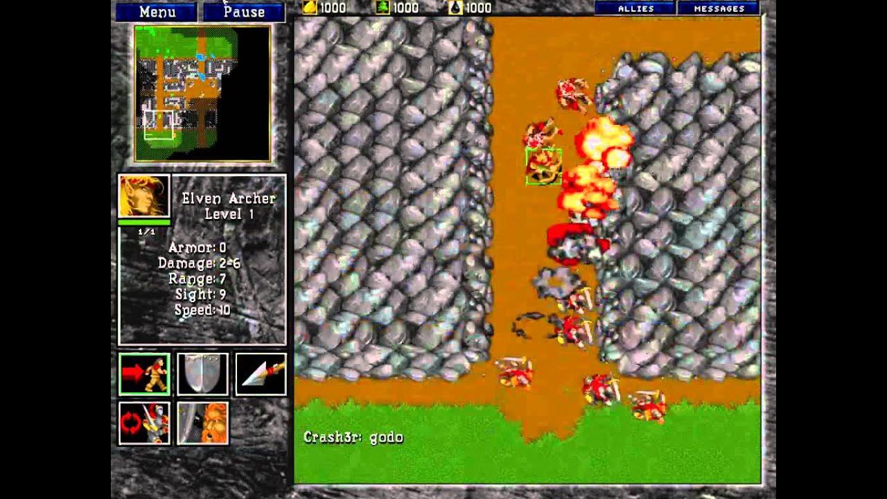 45 Man Pball Fireball Ending 2v2 Warcraft 2 Youtube