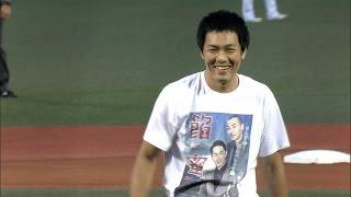お笑い芸人のトータルテンボス・大村朋宏さん、藤田憲右さんが始球式に...