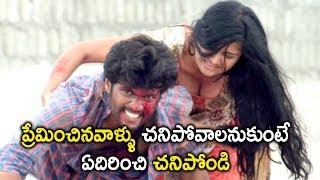 ప్రేమించినవాళ్ళు చనిపోవాలనుకుంటే ఏదిరించి చనిపోండి Prementha Panichese Narayana Movie Scenes