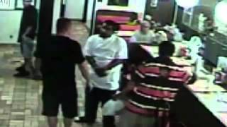 caught on camera legally armed man shoots racist attacker at waffle house