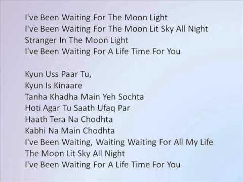 I've Been Waiting Song Lyrics from Jhoota Hi Sahi 2010