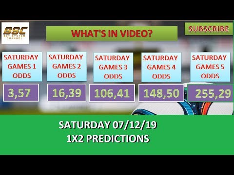 TODAY'S 1X2 FOOTBALL BETTING PREDICTIONS - SOCCER TIPS - FIXED ODDS