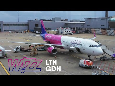 TRIP REPORT | Wizz Air Airbus A321 | London Luton - Gdansk | W6 1610 HA-LXJ