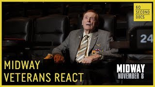 Battle of Midway Veterans React To MIDWAY Feature Film
