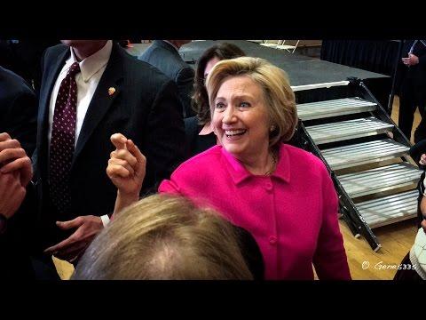 Hillary Clinton Speaking in Des Moines, Iowa
