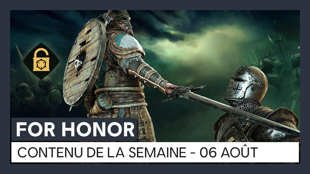 For Honor – Nouveau contenu de la semaine (06 aoûtt) [OFFICIEL] VOSTFR HD