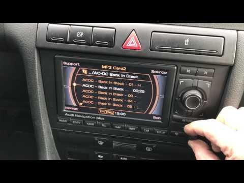 RNSE MP3 audi A6