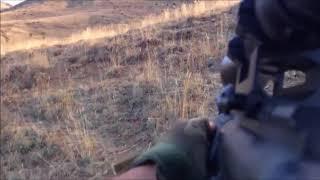 Afrin de Bordo Bereli Uzaktaki ypg li terörist  Nışancıyı Böyle Vurdu