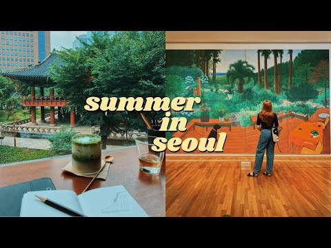 some grey summer days in my life in seoul, korea vlog