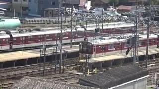 近鉄1440系1440編成+2450-1200系1211編成急行名古屋行き発車
