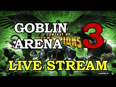 Green Goblin Arena Round 2 - Part 3 | Marvel Contest of Champions Live Stream