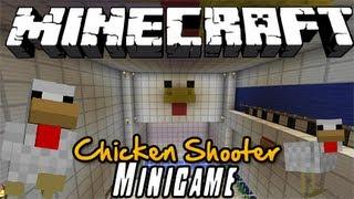 Minecraft Minigame: Chicken Shooter!