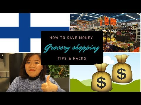 [LIFE IN FINLAND] How To Grocery Shop In Finland | Tips And Hacks | Vlog2