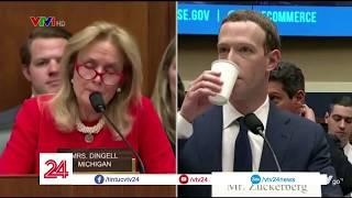 Nhìn lại buổi điều trần của ông chủ Facebook Mark Zuckerberg - Tin Tức VTV24